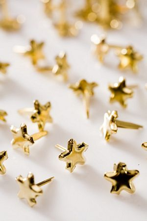 Mini Gold Star Studs